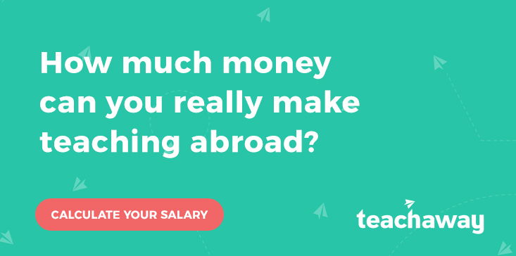 teach abroad salary calculator