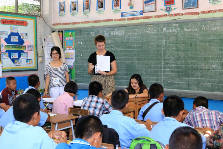 is a tefl certification necessary - photo of teacher abroad