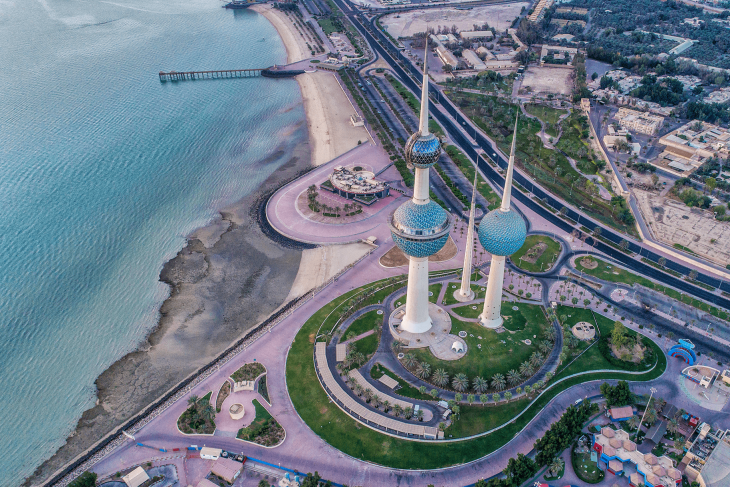 Big city in Kuwait - Best Places to Teach English Abroad 2020
