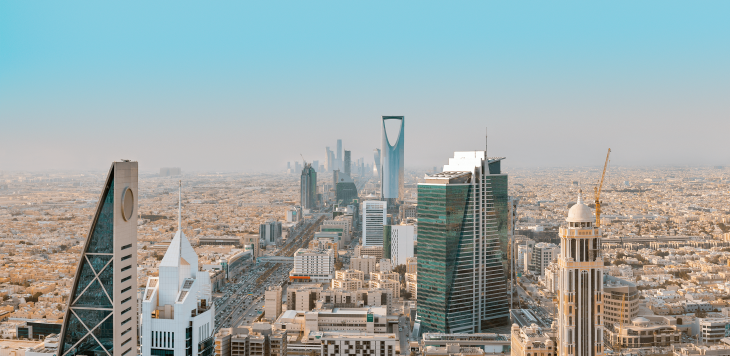 Saudi Arabia cityscape - Best Places to Teach English Abroad 2020