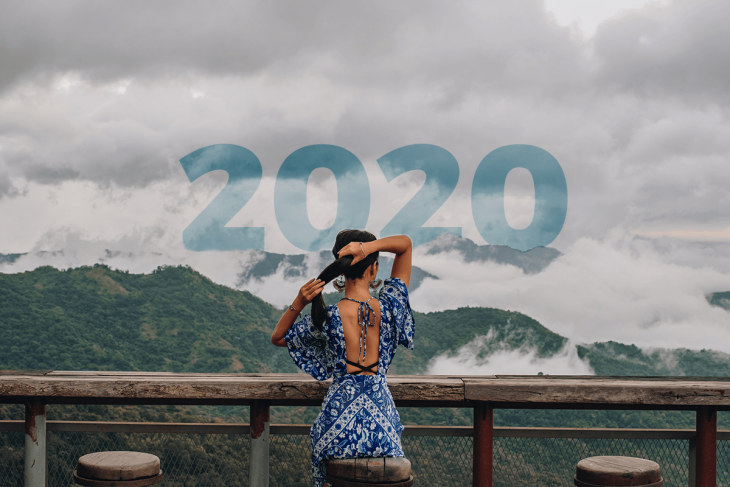 Girl looking at mountains - Best Places to Teach English Abroad 2020