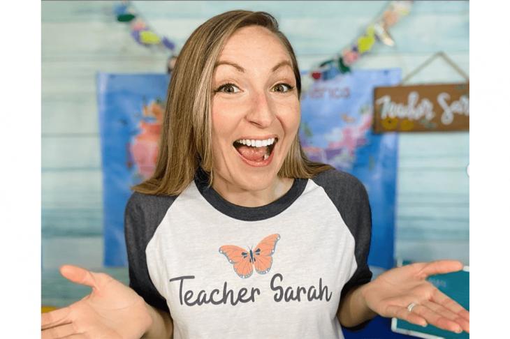 VipKid Sarah teaching English online