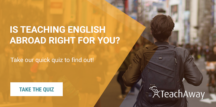 teach english abroad quiz