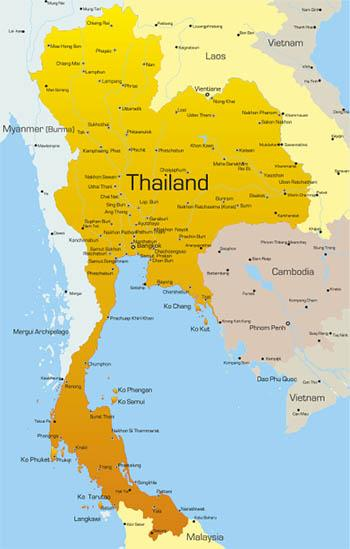 Thailand Geography and Climate