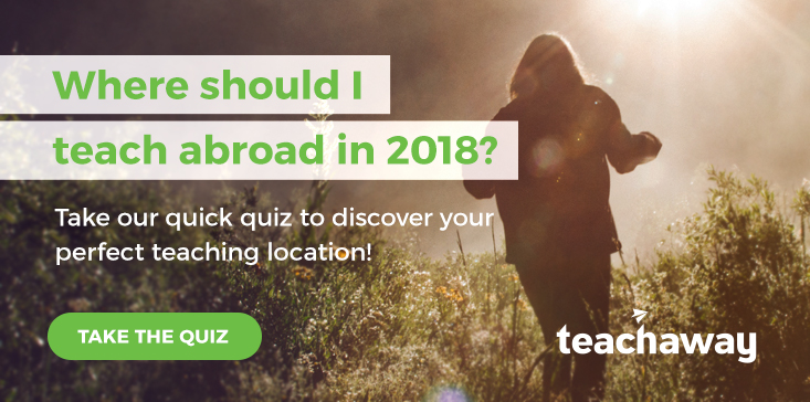teach abroad destinations quiz
